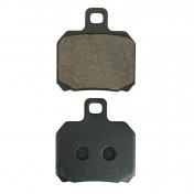 BRAKE PADS FOR PIAGGIO 125-250 X9-EVO FRONT+REAR , 125 X8 REAR , 400-500 BEVERLY REAR , 500 X9-EVO/GILERA 500 NEXUS REAR (PAIR) -P2R-
