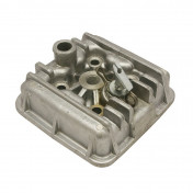 CYLINDER HEAD FOR MOPED FOR PEUGEOT 50 RCX LIQUID COOLING/SPX LIQUID COOLING (WITH CYLINDER HEAD DECOMPRESSOR)