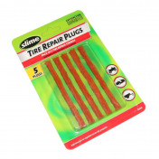 TYRE REPAIR STRING- P2R SLIME FOR TUBELESS MOTORBIKE/SCOOTER/QUAD 100mm (x5)