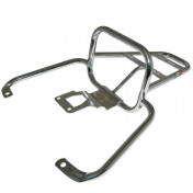 LUGGAGE RACK (REAR) FOR MAXISCOOTER PIAGGIO 50-125 VESPA LX, LXV, VESPA-S CHROME -FACO-