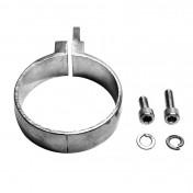 COLLIER DE SILENCIEUX SCOOTER LEOVINCE TT (DIAM 60 mm) (REF 304051501R)