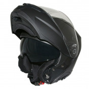 HELMET- FLIP-UP ADX M3 (DOUBLE VISORS) BLACK MATT XS