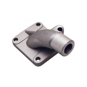 PIPE ADMISSION CYCLO ALU ADAPTABLE PEUGEOT 103 SP, MVL DIAM 12mm (TYPE ORIGINE) -SELECTION P2R-