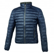 DOWN JACKET TUCANO FOR MEN LOT PACK DARK BLUE M (Euro 44) (HYPER LIGHT - WATER REPELLENT)