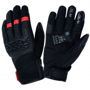 GLOVES TUCANO - SPRING/SUMMER DOGON BLACK/ORANGE T 8 (S) (APPROVAL 13594) (COMPATIBLE WITH TOUCH SCREEN)