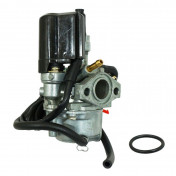 CARBURETOR FOR PEUGEOT 50 TKR/SPEEDFIGHT 1 AND 2/BUXY/ELYSEO/TREKKER (WITH ELECTRIC CHOKE/STARTER) (Ø 16mm) -ECO QUALITY-