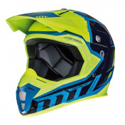 HELMET-CROSS ENDURO MT SYNCHRONY SPEC BLUE/YELLOW FLUO XXL