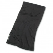 WIND COLLAR SPRING SUMMER TUCANO MERLINO 100% SILK - BLACK
