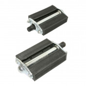 PEDAL FOR MOPED UNIVERSAL BLACK (PAIR)