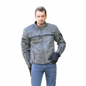 JACKET ADX NASHVILLE GREY XXL (WITH PROTECTIONS/WITHOUT BACK PROTECTOR)