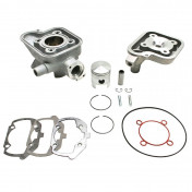 COMPLETE CYLINDER KIT FOR SCOOT PEUGEOT 50 LUDIX BLASTER, SPEEDFIGHT 3, JET FORCE -ALUMINIUM NIKASIL AIRSAL T6-