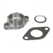 ADAPTER FOR EXHAUST FOR MOPED PEUGEOT 103 SP-MVL, SPX, RCX, VOGUE - MALOSSI - FLANGE TO THREADED FASTENER (07 5435)