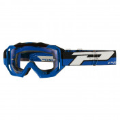 MASQUE/LUNETTES CROSS PROGRIP 3200 LS VENOM BLEU ECRAN TRANSPARENT LIGHT SENSITIVE ANTI-RAYURES/ANTI U.V./ANTI-BUEE (HOMOLOGUE CE-EN-N° AC-96025 REV.2)