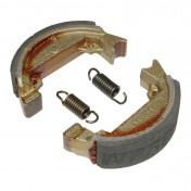 BRAKE SHOE NEWFREN FOR MOPED MBK 50 -FRONT-/-REAR- Ø80x20mm (GF.1271)