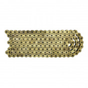 CHAIN FOR MOTORBIKE P2R 420 REINFORCED GOLDEN 136 LINKS