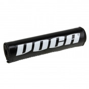 BAR PAD MOTOCROSS VOCA BLACK 250mm - WITH CROSSBAR