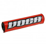 BAR PAD MOTOCROSS VOCA 250mm RED - WITH CROSSBAR