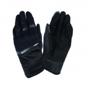 GLOVES- SPRING/SUMMER TUCANO PENNA BLACK T12 (XL) (APPROVED EN13594/2015) (TOUCH SCREEN FUNCTION)