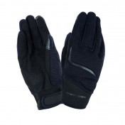 GLOVES- SPRING/SUMMER TUCANO MIKY BLACK T10 (L) (APPROVED EN13594:2015) (TOUCH SCREEN FUNCTION)
