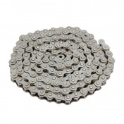 CHAIN FOR MOTORBIKE VOCA 420 REINFORCED - CHROME 136 LINKS