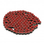 CHAIN FOR MOTORBIKE VOCA 420 REINFORCED - RED 136 LINKS