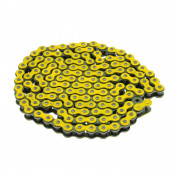 CHAIN FOR MOTORBIKE VOCA 420 REINFORCED - YELLOW 136 LINKS
