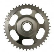 REAR CHAIN SPROCKET FOR 50cc MOTORBIKE APRILIA 50 RS 1995->1998 415 43 TEETH -STEEL- (BORE 28 mm - WIDTH 32 mm) (OEM SPECIFICATION) -DID-