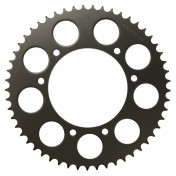 REAR CHAIN SPROCKET FOR 50cc MOTORBIKE APRILIA 50 RX,SX 2006>2011 420 53 TEETH -STEEL- (BORE Ø 105mm) (OEM SPECIFICATION) -DID