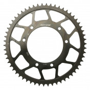 REAR CHAIN SPROCKET FOR 50cc MOTORBIKE HM 50 DERAPAGE 2003> 420 58 TEETH -STEEL- (BORE Ø 105 mm) -SELECTION P2R-