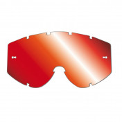 LENS FOR MOTOCROSS GOGGLES PROGRIP 3248 RED MULTILAYERED MIRRORED - NO FOG/ANTI SCRATCH/ANTI-U.V.