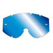 LENS FOR MOTOCROSS GOGGLES PROGRIP 3246 BLUE MULTILAYERED MIRRORED - NO FOG/ANTI SCRATCH/ANTI-U.V.
