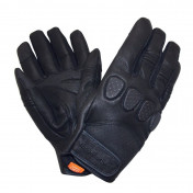 GLOVES- SPRING/SUMMER TUCANO GIG BLACK T 9 (M) (APPROVED EN13594:2015) (TOUCH SCREEN FUNCTION)
