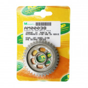 GEARBOX SPROCKET FOR MINARELLI 50 AM6 36 TEETH 1st SECONDARY SHAFT - SERIE 2 -TOP PERF AS ORIGINAL-