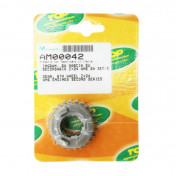 GEARBOX SPROCKET FOR MINARELLI 50 AM6 24 TEETH 6th SECONDARY SHAFT SERIE 2 -TOP PERF AS ORIGINAL-
