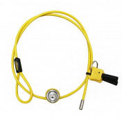 MOTORCYCLE ANTITHEFT- - FOR HELMET CABLE MULTIPURPOSE H.R. 60 cm -Ø 4 mm