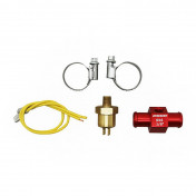 """COOLING ADAPTER VOCA T-LINK WITH THERMO-SWITCH 16mm 1/8"""" RED"""