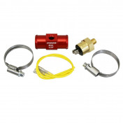 """COOLING ADAPTER VOCA T-LINK WITH THERMO-SWITCH 22mm 1/8"""" RED"""