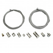 CABLE - UNIVERSAL FOR THROTTLE OR CLUTCH 2M WITH CABLE FASTENER (KIT) -P2R-