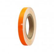 LISERET/AUTOCOLLANT/STICKER JANTE REPLAY ORANGE FLUO 7mm 6M AVEC APPLICATEUR