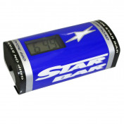 BAR PAD - MOTO CROSS STAR BAR BOOSTER CHRONO BLUE- WITH INTEGRATED TIMER.