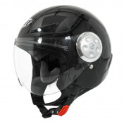 HELMET-OPEN FACE -FOR CHILD- MT URBAN SOLID GLOSS BLACK YL (53 to 54cm)