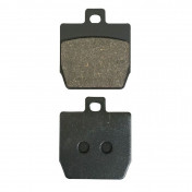 BRAKE PADS FOR MBK 50 STUNT FRONT, NITRO REAR 1997>2003/YAMAHA 50 SLIDER FRONT, AEROX REAR 1997>2003