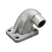 PIPE ADMISSION CYCLO MALOSSI ALU POUR MBK 51 DIAM INT 15mm / DIAM EXT 19mm (POUR CARBU SHA) -02 6090B-