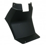 BATTERY COVER (TRAPDOOR) FOR SCOOT MBK 50 STUNT/YAMAHA 50 SLIDER GLOSS BLACK (OE 5JHF171100) -P2R-