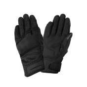 GLOVES- SPRING/SUMMER TUCANO FOR LADY- PENNA BLACK T 8 (M) (APPROVED EN13594:2015) (TOUCH SCREEN FUNCTION)