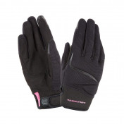 GLOVES- SPRING/SUMMER TUCANO FOR LADY- MIKY BLACK T 8,5 (L) (APPROVED EN13594:2015) (TOUCH SCREEN FUNCTION)