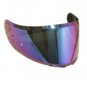VISOR FOR FULL FACE HELMET MT RAPIDE IRIDIUM (PINLOCK READY) **