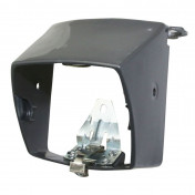 COWLING FOR HEADLAMP FOR MOPED PEUGEOT 103 MVL, VOGUE- GREY (+FIXING FOOT AND SPRING) -SELECTION P2R-