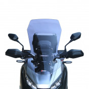 WINDSHIELD FOR MAXISCOOTER HONDA 750 X-ADV 2017> LIGHT SMOKED (H 687mm - L 490mm) -FACO-