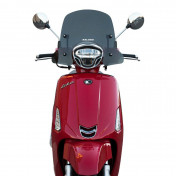 WIND SHIELD FOR MAXISCOOTER FOR KYMCO 50-125 LIKE 2018> (SMOKED) -MALOSSI-